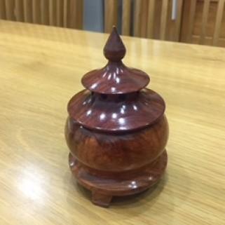 Tháp nhang trầm nụ (gỗ hương)