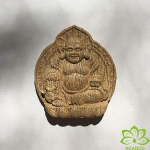 Mặt dây chuyền Trầm Phật Di Lặc