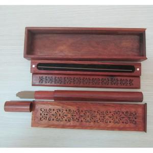 Bộ hộp gỗ Xông trầm Hoa Văn
