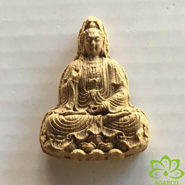 Mặt dây chuyền Trầm Phật Toạ Sen