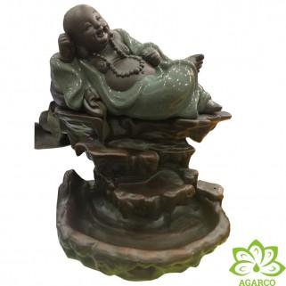 Thác Khói Trầm Hương Phật Di Lặc